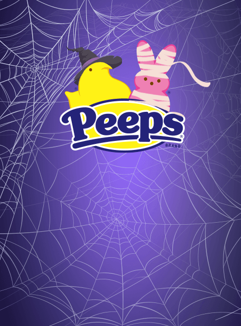 Halloween PEEPS® and Spider Webs